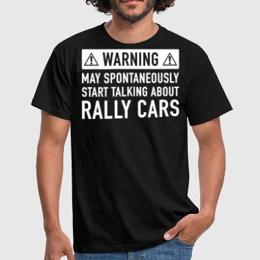 Rolig Rally Car present - T-shirt herr