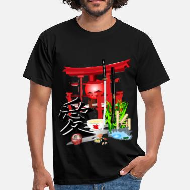 Japanse Japan - Mannen T-shirt