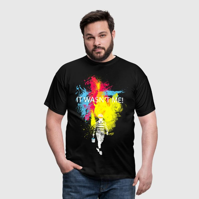 it wasn't me! - Mannen T-shirt