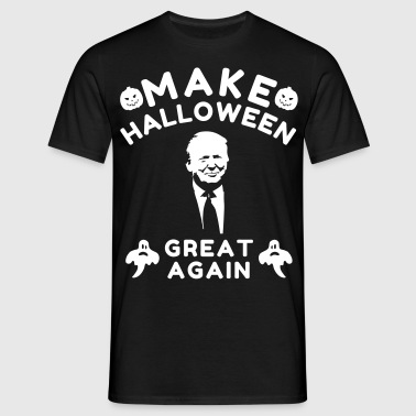 Make Halloween Great Again - Koszulka męska