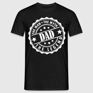 Dad-The Man The Myth The Legend - Men's T-Shirt