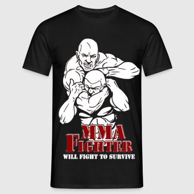 mma_fighter3 - Männer T-Shirt