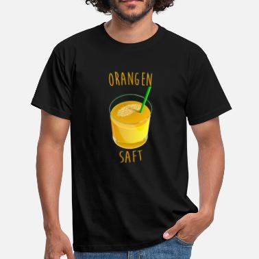 Orange Juice Orange orange juice fruit - Men's T-Shirt