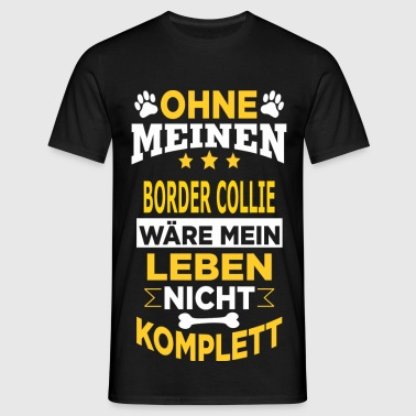 BORDER COLLIE - Männer T-Shirt