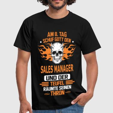 SALES MANAGER - Männer T-Shirt