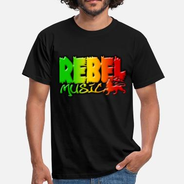 Rebelle Attitude rebel music - T-shirt Homme