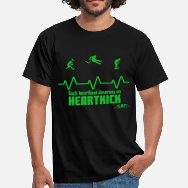 Trottinette heartbeat trottinette - T-shirt Homme