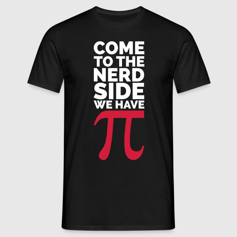 The Nerd Side - Pi - T-shirt herr