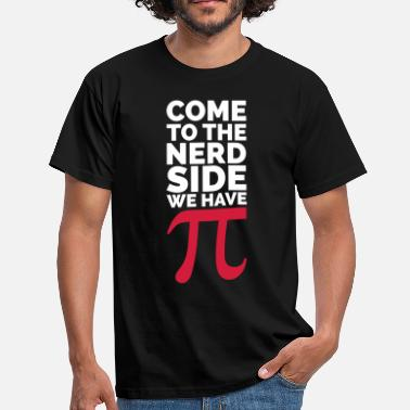Chemistry The Nerd Side - Pi - Mannen T-shirt