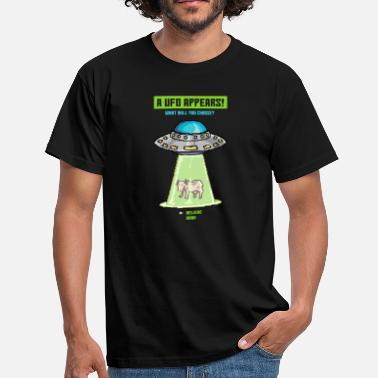Cow Ufo Cow Ufo Paradox Game - Men's T-Shirt