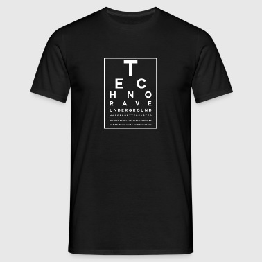 Techno Visual Test - Men's T-Shirt