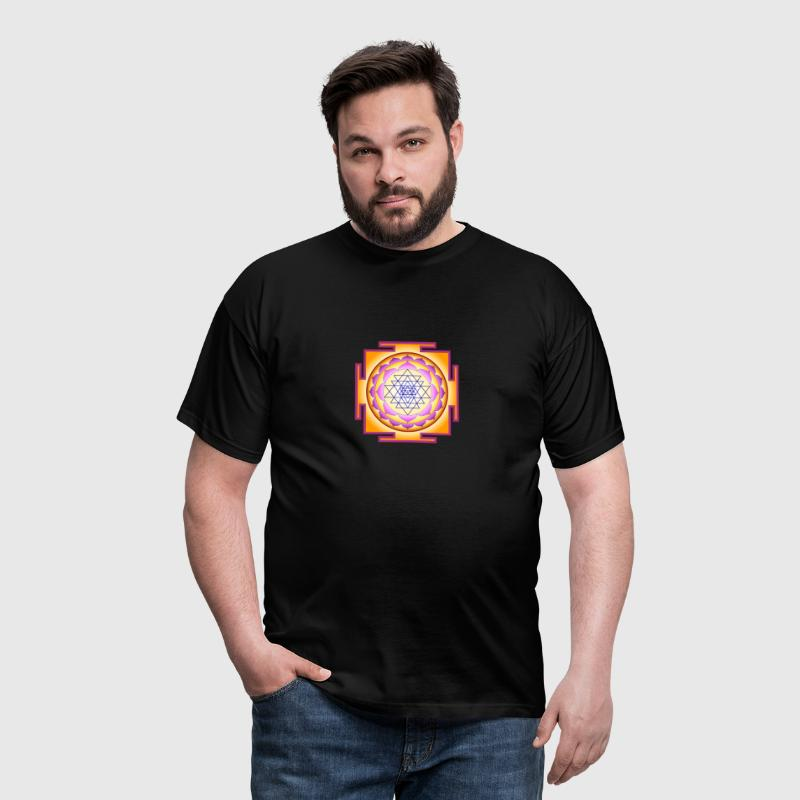 Powerfull Sri Yantra - Men's T-Shirt