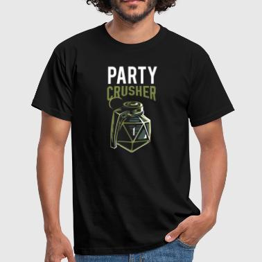 Pen and paper critical fail party crusher - Men's T-Shirt