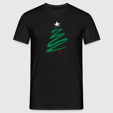christmas_tree - Men's T-Shirt