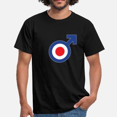 Quadrophenia male mod - Men's T-Shirt