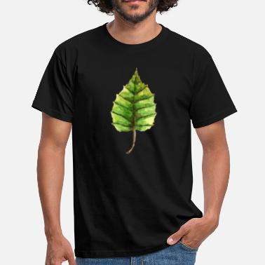 Linden Leaf of a linden - Men's T-Shirt
