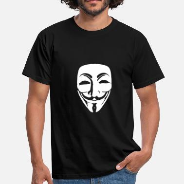 Masque [FR] Anonymous - T-shirt Homme