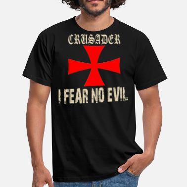 Knights Templar Cross Crusader Knights Templar Cross Motif - Men's T-Shirt
