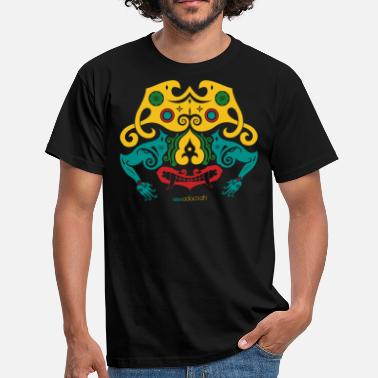 Borneo Borneo Mask - T-skjorte for menn