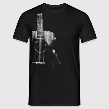 Guitar - Mannen T-shirt