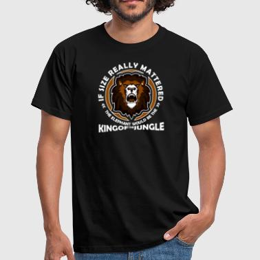 King Of The Jungle KING OF THE JUNGLE - Men's T-Shirt
