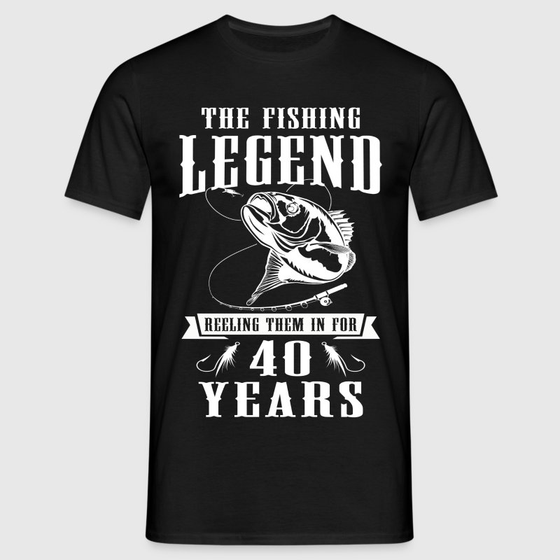 The Fishing Legend Reeling Them In For 40 Years - Men's T-Shirt