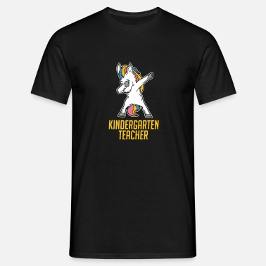 Kindergarten Teacher Kindergarten teacher / kindergarten teacher unicorn - Men's T-Shirt