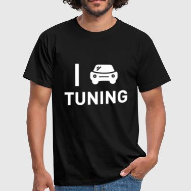 Afstemming optimaliseer de chiptuning - Mannen T-shirt