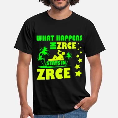 Zrce WHAT HAPPENS IN ZRCE STAYS IN ZRCE - Men's T-Shirt