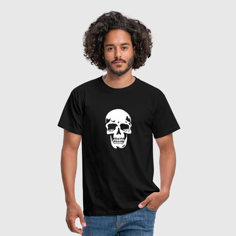 skull pirate death heavy metal - Camiseta hombre