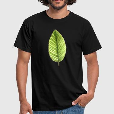 Cherry Tree Leaf of a cherry tree - Men's T-Shirt
