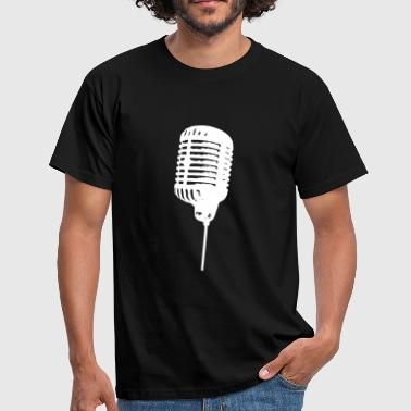 Microphone - Men's T-Shirt