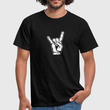 Devilhand Pommesgabel - Men's T-Shirt