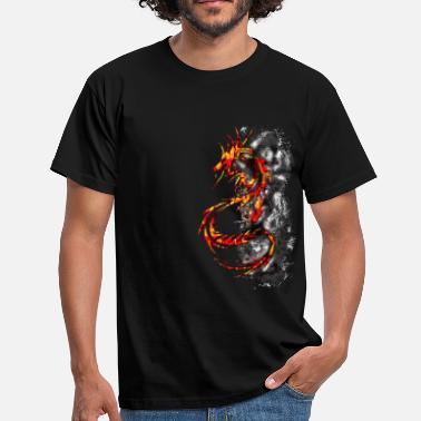 Dragon Ball Z Dragon Fire - T-shirt Homme