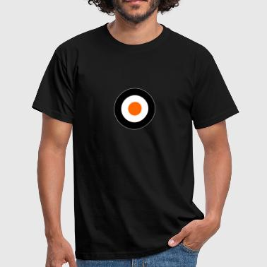 Orange Times Mod Target DigitalDirekt - Men's T-Shirt
