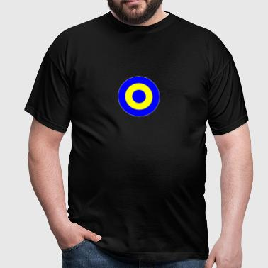 Schweden Sweden Europe Mod Target DigitalDirekt - Men's T-Shirt