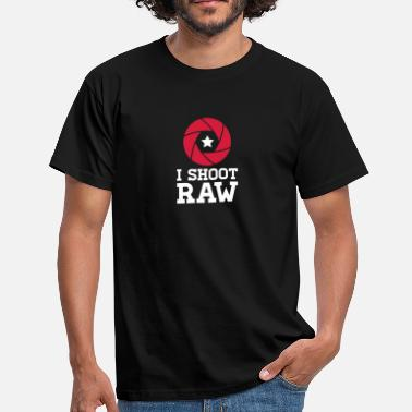 Raw I Shoot RAW - Star - Men's T-Shirt
