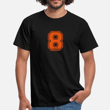 Long 8 inch - Men's T-Shirt