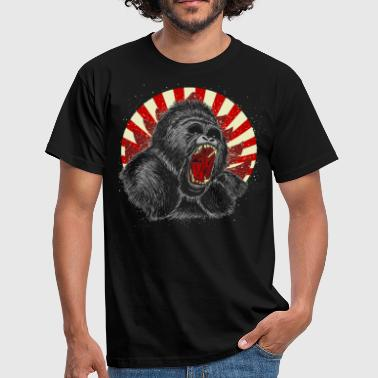 gorilla  - Men's T-Shirt