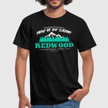 Redwood National Park - Bigfoot Wald - Männer T-Shirt