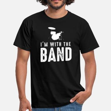 Funny Band I'm With The Band - Funny Music Instruments Band - Men's T-Shirt