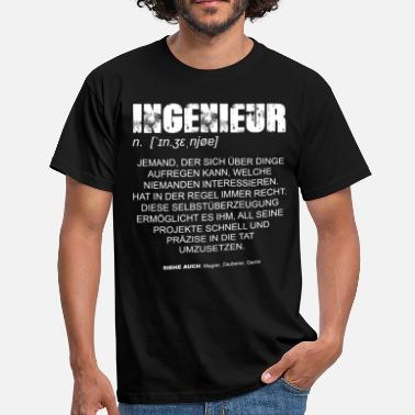 Mathematiker Definition Ingenieur Definition DE - Männer T-Shirt