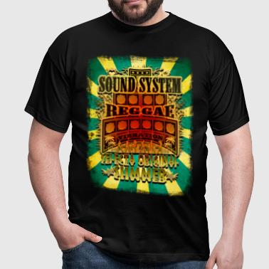 sound system reggae vibration selecta - T-shirt Homme