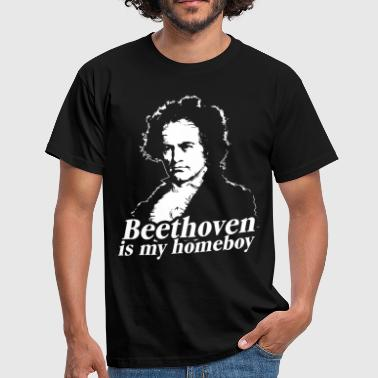 Beethoven Is My Homeboy - T-shirt Homme