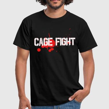 Cage Fight cage kamp gave - Herre-T-shirt
