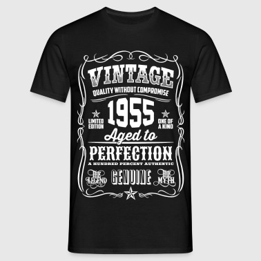 1955 Aged to Perfection White print - Camiseta hombre