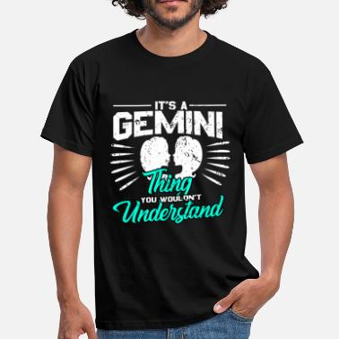 Sterrenbeeld Tweeling Sterrenbeeld sterrenbeeld Tweeling Astro - Mannen T-shirt