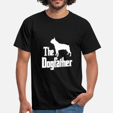 Boston The Dogfather Boston Terrier dog funny gift - Men's T-Shirt