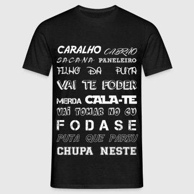 CARALHO white - T-shirt Homme