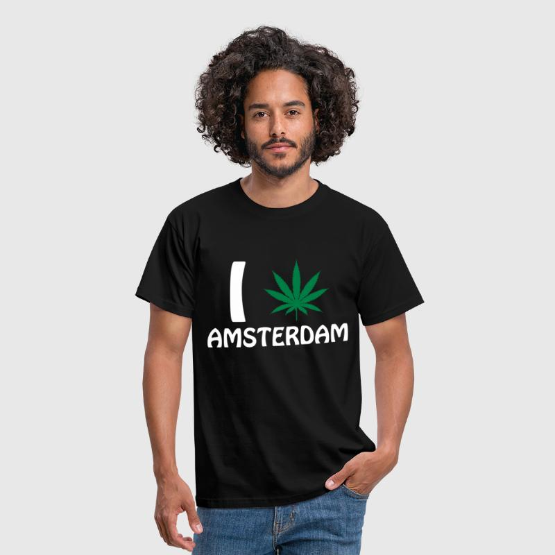 I Love Amsterdam - Men's T-Shirt